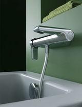 Bathtub mixer tap / chromed metal / bathroom / 1-hole