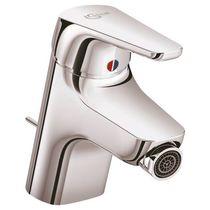 Bidet mixer tap / chromed metal / bathroom / 1-hole