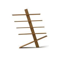 Contemporary shelf / oak / commercial