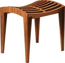 Contemporary stool / walnut