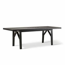 Contemporary table / ash / rectangular
