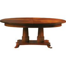 Classic table / cherrywood / oval / round