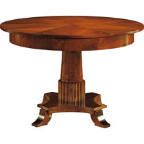 Classic table / cherrywood / round / extending