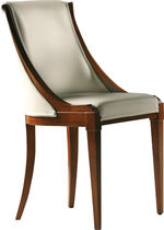 Classic chair / upholstered / walnut / cherrywood