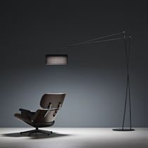 Floor-standing lamp / minimalist design / metal / dimmable