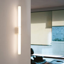 Contemporary wall light / glass / LED / linear