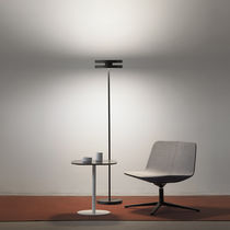 Floor-standing lamp / contemporary / metal / LED