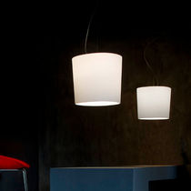 Pendant lamp / contemporary / glass / blown glass