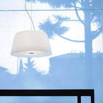 Pendant lamp / contemporary / blown glass / Plexiglas®