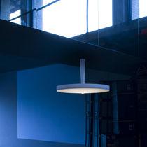 Contemporary ceiling light / round / aluminum / polyethylene