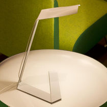 Table lamp / original design / metal / white