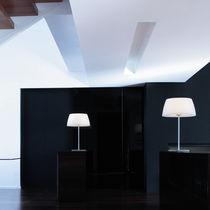 Table lamp / contemporary / polyethylene / white