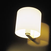 Traditional wall light / glass / halogen / IP44