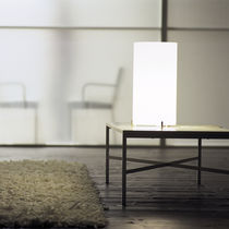 Table lamp / contemporary / glass / blown glass