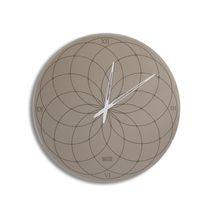 Contemporary clock / analog / wall-mounted