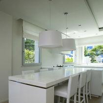 Swing window / aluminum / double-glazed / thermal break