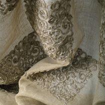 Upholstery fabric / baroque / linen / transparent