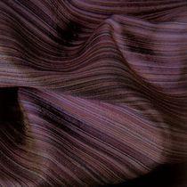 Upholstery fabric / striped / silk / wool