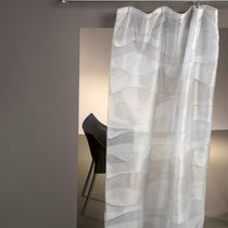 Curtain fabric / for roller blinds / plain / polyester