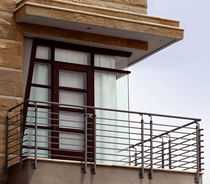 Balcony with bars / steel