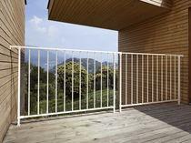 Outdoor railing / indoor / metal / with bars