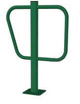 Galvanized steel bike rack