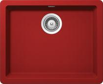 Single-bowl kitchen sink / composite