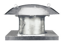 Axial fan / roof / commercial / metal