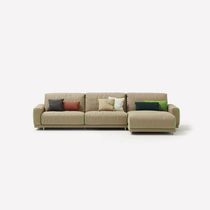 Contemporary sofa / fabric / 2-seater / reclining