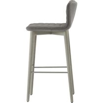 Contemporary bar chair / upholstered / polyurethane