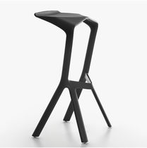 Contemporary bar stool / polypropylene / commercial / stackable