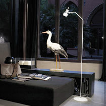 Floor-standing lamp / contemporary / glass / LED