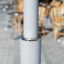 Road sign pole / stainless steel