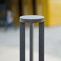 Security bollard / stainless steel