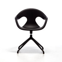 Contemporary office chair / plastic / swivel / star base