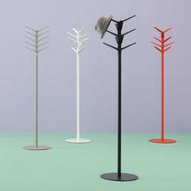 Floor coat rack / contemporary / steel / polypropylene