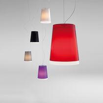 Pendant lamp / contemporary / polycarbonate / white
