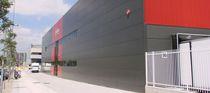 Facade sandwich panel / steel facing / polyurethane (PUR) core