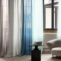 Plain sheer curtain fabric / linen