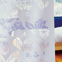 Floral pattern sheer curtain fabric / Trevira CS® / polyester