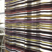 Striped sheer curtain fabric / Trevira CS® / polyester / fire-rated