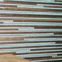 Natural fiber wallcovering / residential / textured / fabric look