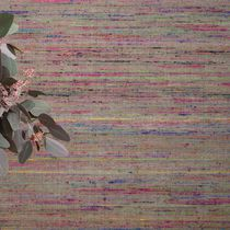 Silk wallcovering / residential / textured / fabric look