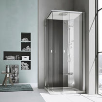 Multi-function shower cubicle / steam / glass / acrylic