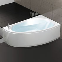 Corner bathtub / acrylic / hydromassage