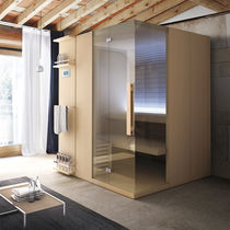 Residential sauna / prefab / for indoor use