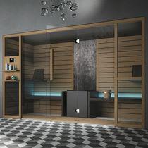 Residential sauna / wooden