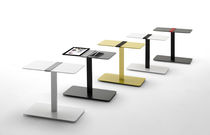 Side table / contemporary / MDF / lacquered MDF
