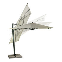 Offset patio umbrella / commercial / fabric / aluminum