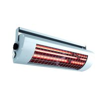Wall-mounted infrared heater / floor-standing / electric / commercial